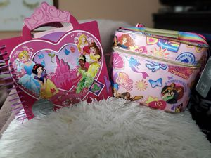 New Disney Princess lunchbox/drawing set for Sale in Tampa, FL