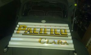 Cerveza Pacifico mancave metal sign price is firm for Sale in Fontana, CA