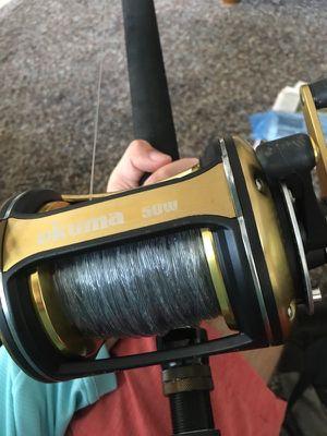 Okuma reel and Rod for Sale in Seminole, FL