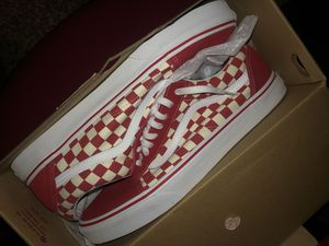 Vans checkerboard size 14 for Sale in Houston, TX