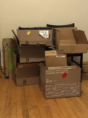 Free Boxes for Sale in Riverside, IL