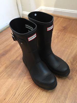 Hunter rain boots size 8 (men's) for Sale in Washington, DC