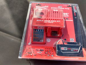 Brand new Milwaukee 5.0 batt and charger for Sale in San Diego, CA