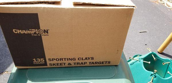 Clay skeet n trap targets