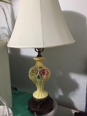 Vintage pottery lamp for Sale in Chesapeake, VA