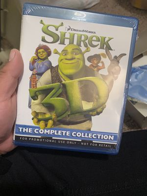 Shrek collection in 3D with glasses for Sale in Fresno, CA