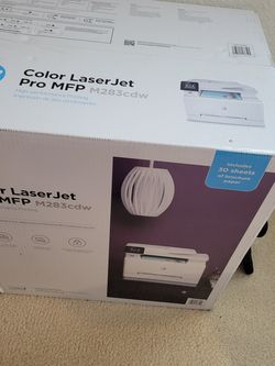 New, Sealed HP MFP M283cdw Color Laser Printer for Sale in Bothell,  WA