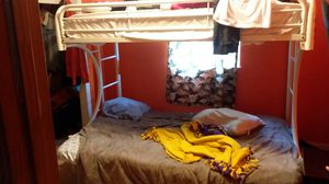 Bunk bed/ futon: twin bed on top, full futon on bottom for Sale in Moncks Corner, SC