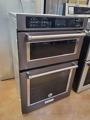 Microwave wall oven Kitchenaid black stainless steel for Sale in Covina, CA