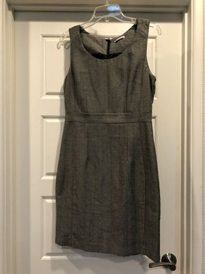 Black tan H&M thick material fitted dress business work professional size medium for Sale in Tempe, AZ