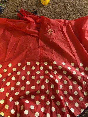 Minnie rain coat adult for Sale in Virginia Beach, VA