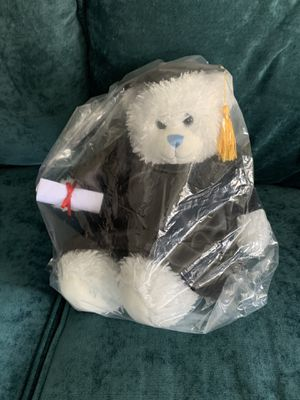 Build a Bear Graduation Bear with Diploma Very Faint Light Blue Color Brand New for Sale in Boston, MA