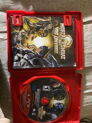 Mortal combat vs dc universe for Sale in Miami, FL