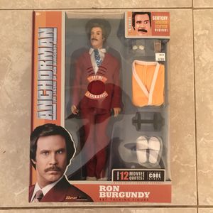 Ron Burgundy Action Figure for Sale in Tampa, FL