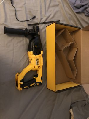 Brand new Dewalt hammer drill never used for Sale in Wichita, KS