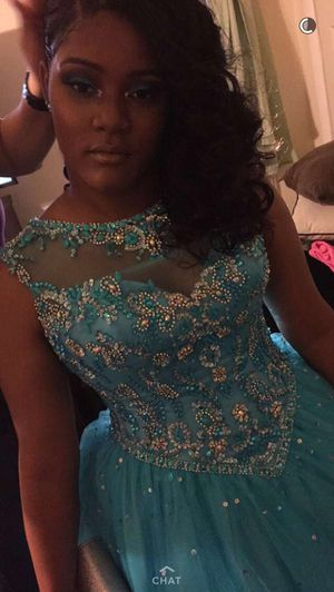 Scougal blue prom dress for Sale in Temple Hills, MD