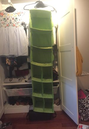 Hanging Closet Organizer Shelves for Sale in Washington, DC
