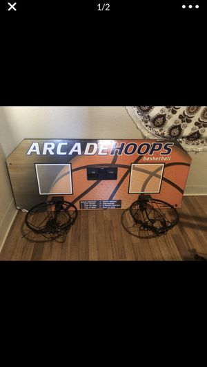 DUO BASKETBALL HOOP for Sale in Phoenix, AZ