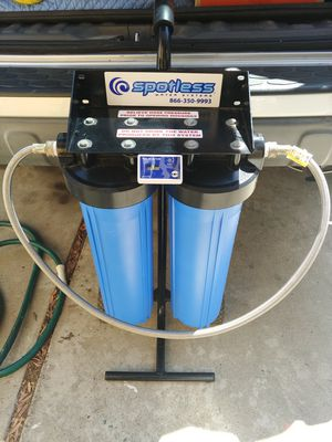 Spotless Water Systems Deionizing washing system Car/RV/Boat/House for Sale in MONARCH BAY, CA