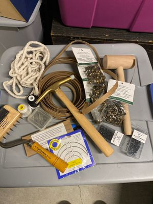 Lot of Upholstery tools/supplies for Sale in Tacoma, WA