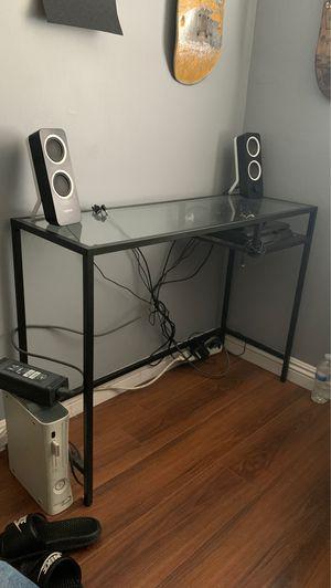 glass desk! for Sale in Anaheim, CA
