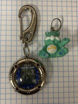 Vintage Care Bear And Buzz Lightyear Keychains for Sale in Dallas,  TX