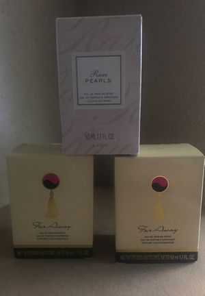 LOT OF AVON 3 PERFUMES for Sale in Houston, TX