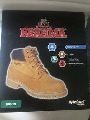 WORK BOOTS STEEL TOE MENS SIZE 7 for Sale in San Diego, CA