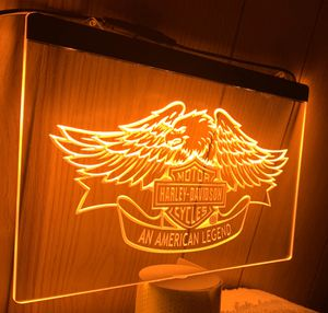 An American Legend 3D Engraved LED Neon Light Sign Wall Decor for Sale in Akron, OH