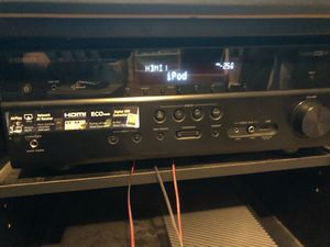 Yamaha receiver with xfinity speakers and xfinity sub for Sale in Pittsburgh, PA