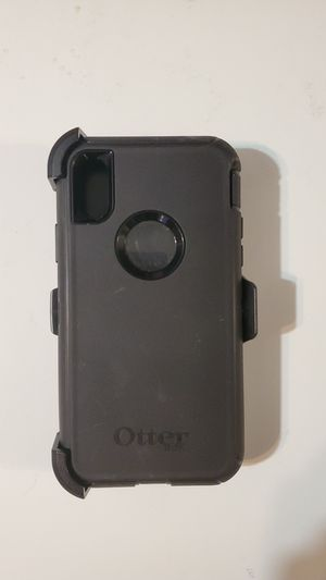 iPhone x/xs otterbox defender case for Sale in Kings Mountain, NC