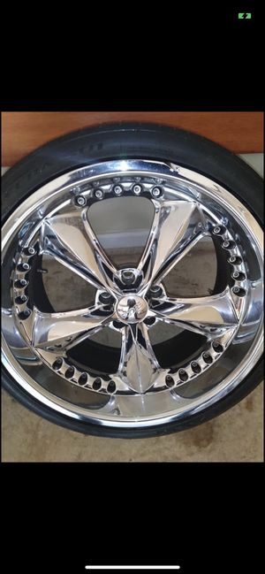 """20"""" Staggered Foose Rims/Tires for Sale in Decatur, GA"""