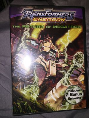 Transformers energon the return of MEGAtron dvd for Sale in Tampa, FL