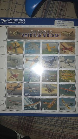 1996 classic American aircraft collection for Sale in Whitehall, OH