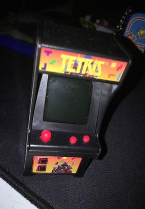 Tetris Hans held arcade game for Sale in Buckeye, AZ