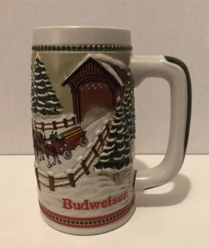 Vintage BUDWEISER Collectible Beer Stein Mug for Sale in Chillum, MD
