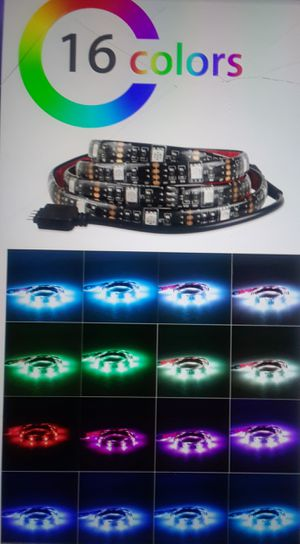 New! 6.6ft Super Bright LED strips, with UPGRADED REMOTES! + Water Resistant 4* Battery Powered = 3AA! for Sale in Orlando, FL