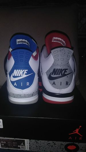 2019 NIKE AIR JORDAN 4 RETRO SE WHAT THE SIZE 10.5 for Sale in Columbus, OH