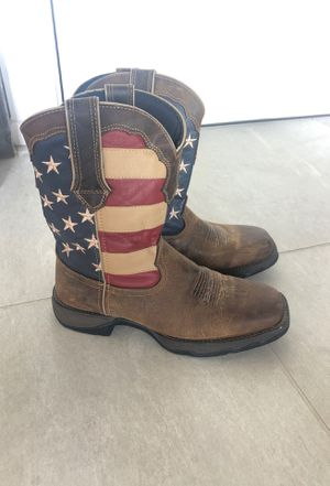 Durango USA size 9 women's square toe leather boots for Sale in San Diego, CA
