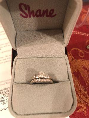 Diamond wedding ring size 5 1/2 6 for Sale in Nashville, TN