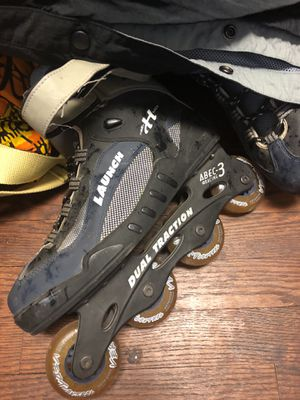 Launch aBEC – 3duel traction rollerblades for Sale in Washington, DC