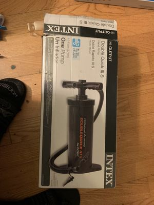 Double quick air pump for Sale in Reston, VA