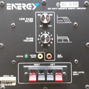 Energy Audiophile Subwoofer for Sale in San Clemente, CA