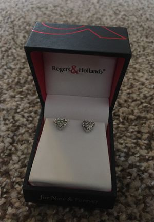 Diamond earrings for Sale in Bloomington, IL