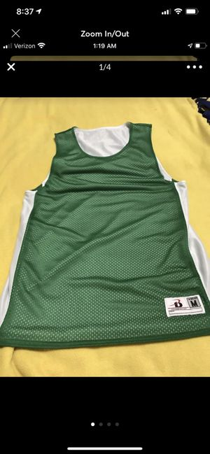 Green And White Medium Jersey for Sale in Sioux Falls, SD