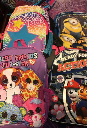 Backpacks for sale for Sale in San Bernardino, CA