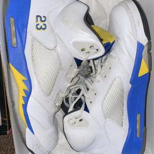 """Jordan 5 """"Laney"""". Used. Size 12 for Sale in Aberdeen, WA"""