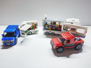 Lego City 60182 and 60117 A Caravan Party Bundle for Sale in Irvine, CA