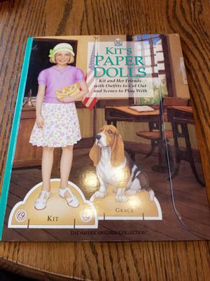American Girls collection Kit's Paper Dolls for Sale in Arlington Heights, IL