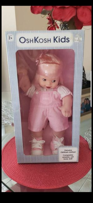 VINTAGE OSHKOSH DOLL for Sale in Delray Beach, FL